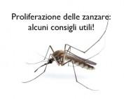 Consigli utili contro la proliferazione delle zanzare